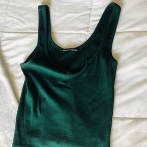 Olive Green Crop